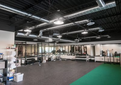 Inside i.e. fitness studio